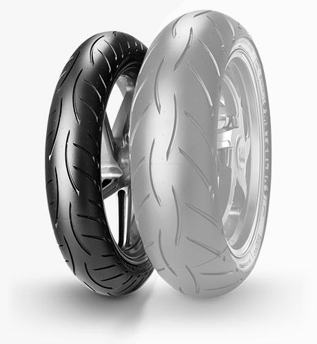 METZELER メッツラーSPORTEC M5 INTERACT【120/70 ZR 17 M/C(58W)TL】スポルテック インタラクト タイヤ