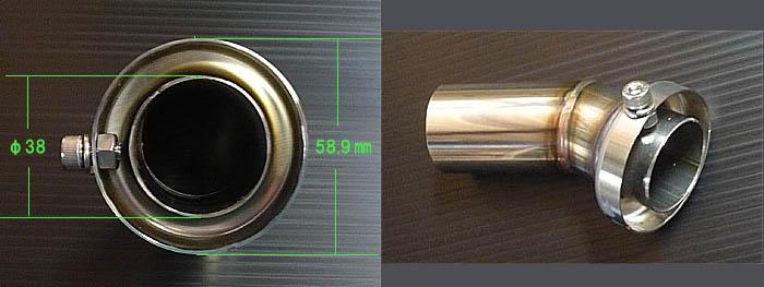 【techserfu】鈦合金構造専用擋板 - 「Webike-摩托百貨」