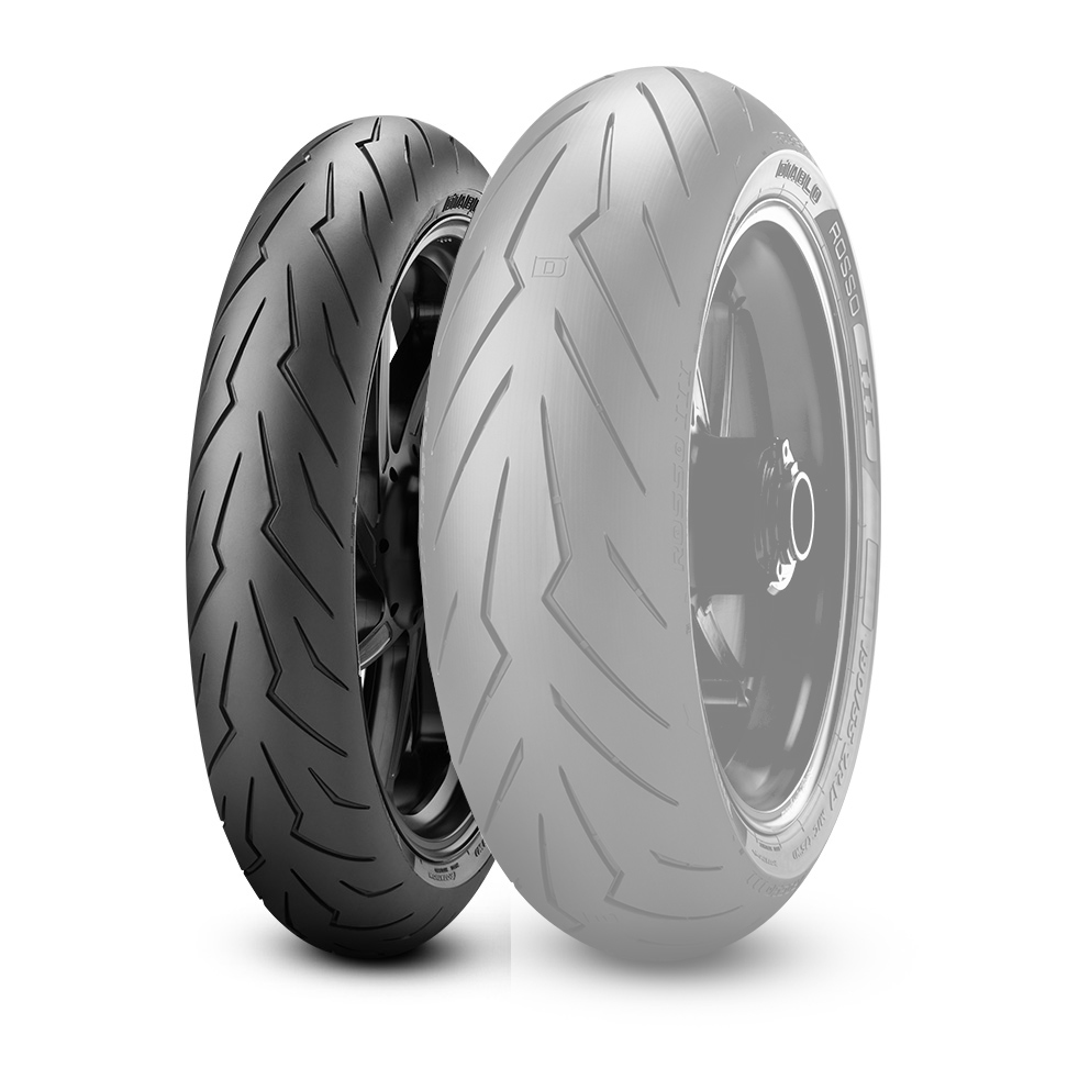 PIRELLI ピレリDIABLO ROSSO III【120/70 ZR17 M/C (58W) TL】ディアブロ ロッソ III タイヤ