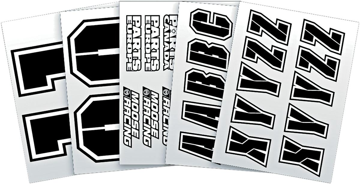 【MOOSE RACING】轉印貼紙套件 [2950-0004] - 「Webike-摩托百貨」