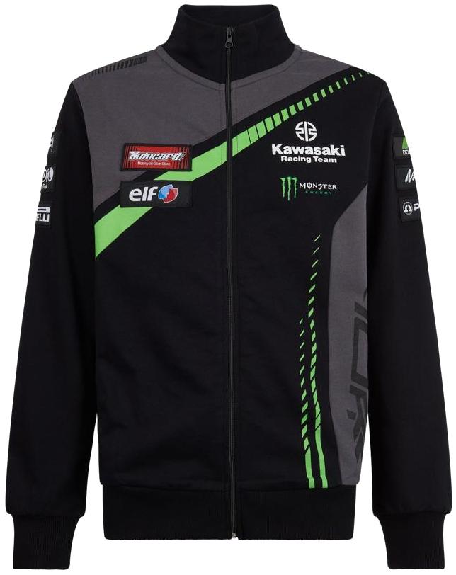 KAWASAKI Racing Team World Super bike Sweat Shirt