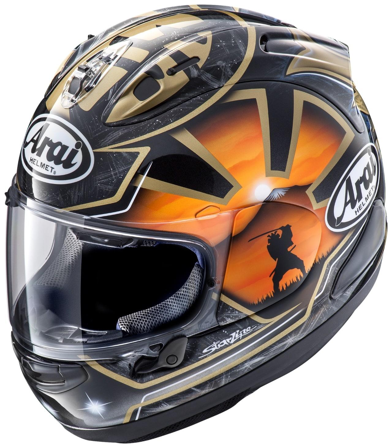 RX-7X PEDROSA SAMURAI SPIRIT Helmet
