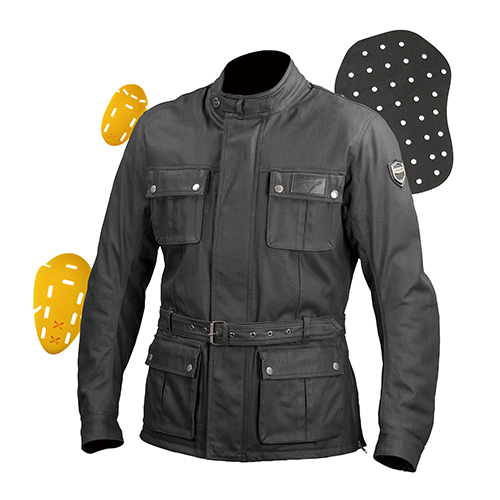 JK-594 Protect Waterproof Wax Cotton Jacket