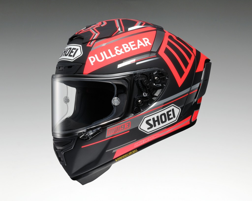 [Under Acceptance ■ Scheduled To Be Released In February 2019] X - 14 MARQUEZ BLACK CONCEPT [ X - FOURTEEN X - Fourteen Marques Black Concept TC - 1 RED/BLACK ] Helmet
