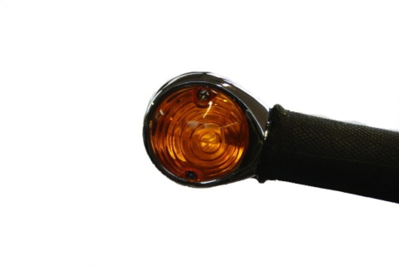SIEBENROCK ジーベンロック22.2mmハンドルバー用 バーエンドウインカー HELLA社製