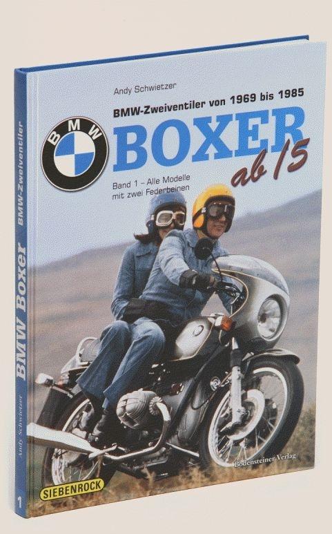 "SIEBENROCK ジーベンロックブック ""BMW BOXER ab / 5""バンド1""ドイツ語"