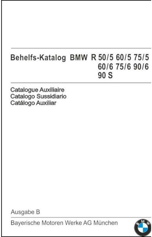 SIEBENROCK ジーベンロックスペアパーツカタログ 5モデル -R90S (ドイツ語)