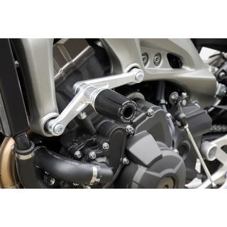 【OVER】引擎保護滑塊 (防倒球) 黑色陽極處理 - 「Webike-摩托百貨」