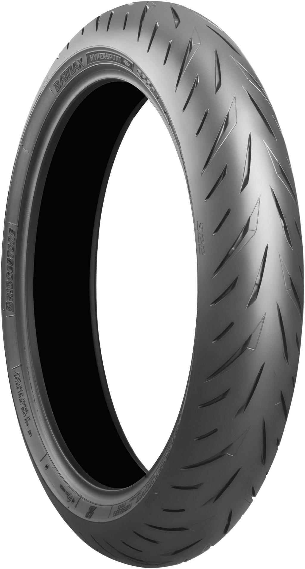 BRIDGESTONE ブリヂストンBATTLAX HYPER SPORT S22【120/70ZR17M/C(58W)】バトラックス ハイパースポーツ タイヤ