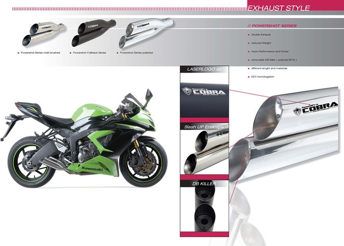 【SpeedPro COBRA】Honda NC700S/X Powershots XL 排氣管尾段 - 「Webike-摩托百貨」