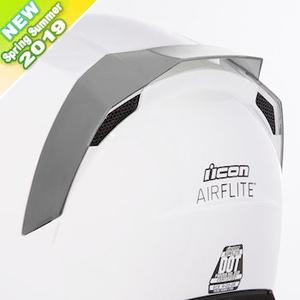 ICON アイコン【ヘルメット・オプションパーツ】 REAR SPOILER AIRFLITE [リアスポイラー エアフライト]