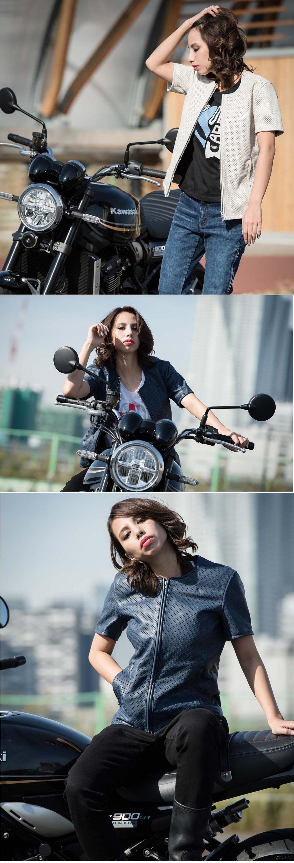 【KADOYA】【K'S LEATHER】PL-STANDARD-SS 女用夾克 - 「Webike-摩托百貨」