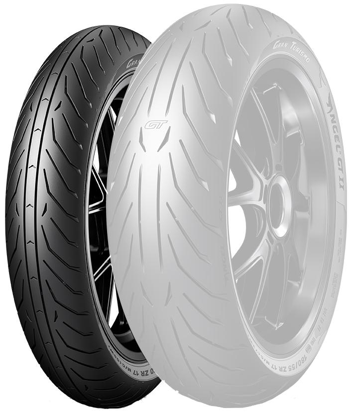 ANGEL GT II【120/70 ZR 17 M/C (58W) TL】エンジェル GT II タイヤ
