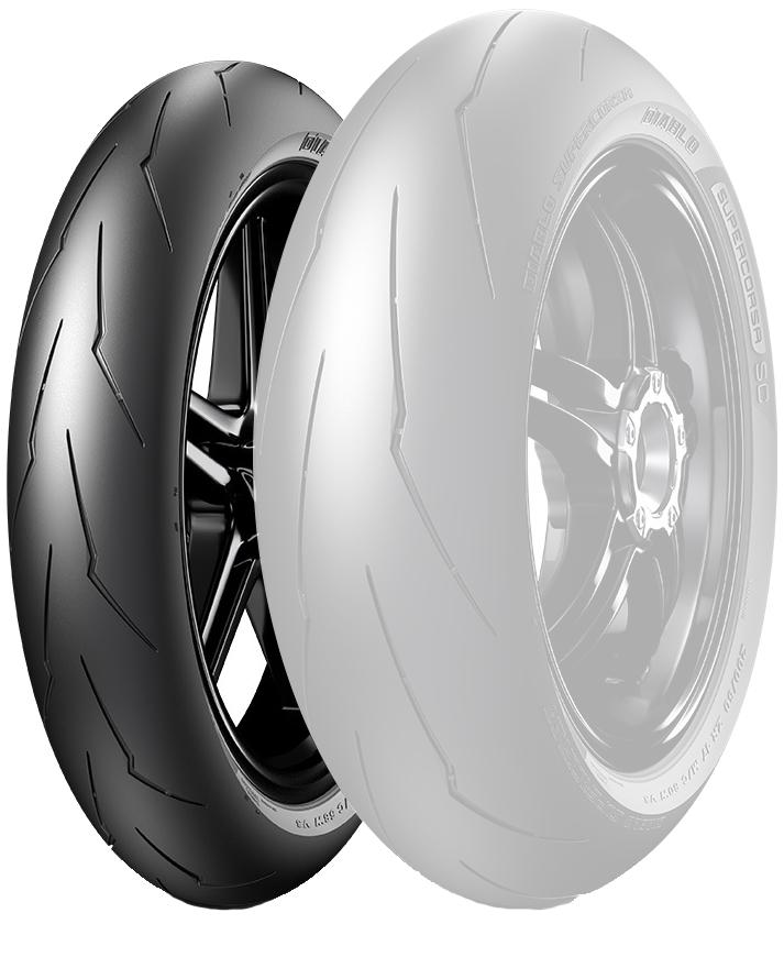 DIABLO SUPERCORSA SC V3【120/70 ZR 17 M/C 58W TL SC1】ディアブロ スーパーコルサ SC V3 タイヤ