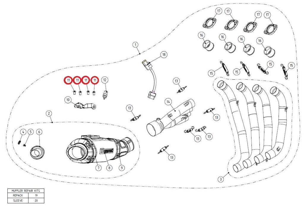 【リペアパーツ】P-FB42 bolt