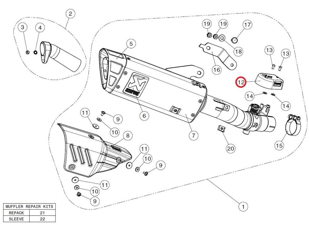 【リペアパーツ】P-HSY6R5 valve cover