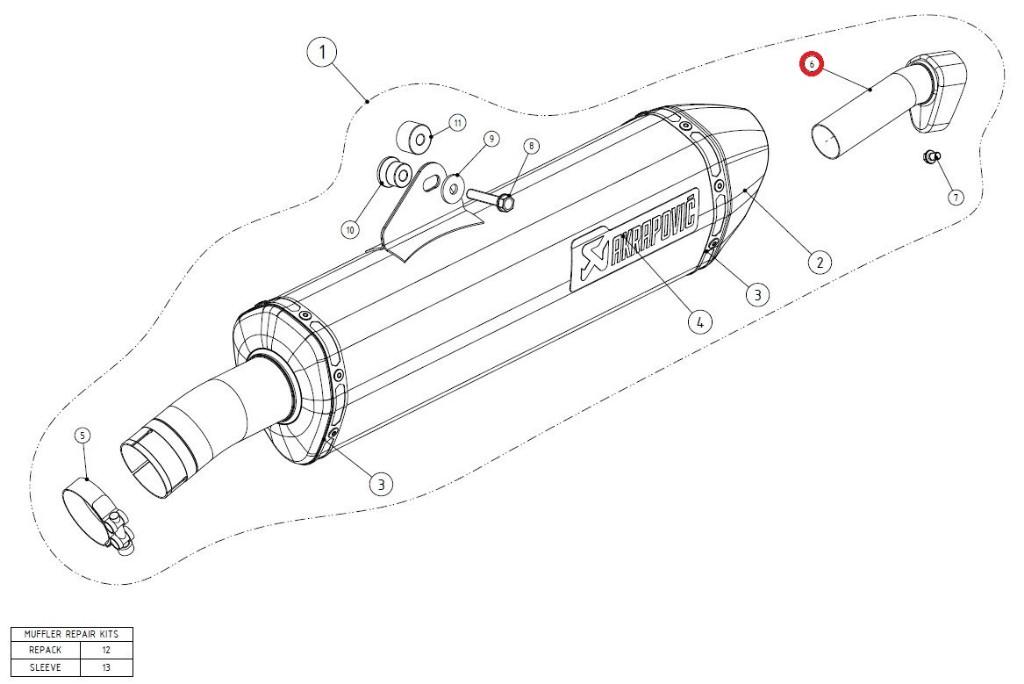 【リペアパーツ】V-TUV052L/2 noise insert SS
