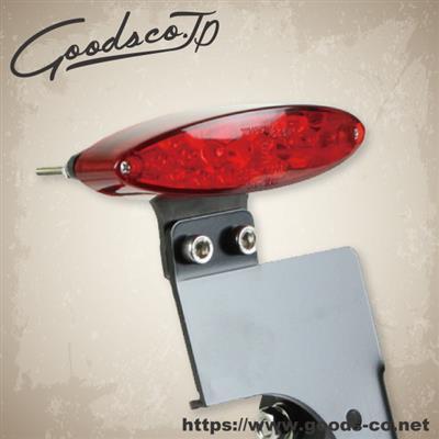 LEDオーバルテール サイドナンバーキット 汎用