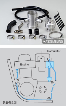 【WM】AIUnit 連結裝置 普通化油器專用 - 「Webike-摩托百貨」
