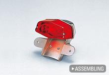 【WM】 LucasType鋁合金後土除專用尾燈  - 「Webike-摩托百貨」