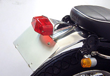 【WM】Lucas type 可調角度牌照架尾燈組 - 「Webike-摩托百貨」