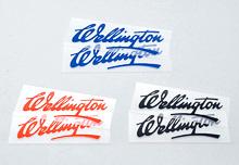 【WM】Wellington 貼紙(一組兩張) - 「Webike-摩托百貨」