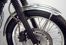 【WM】鋁合金 前土除經典復古型 - 「Webike-摩托百貨」