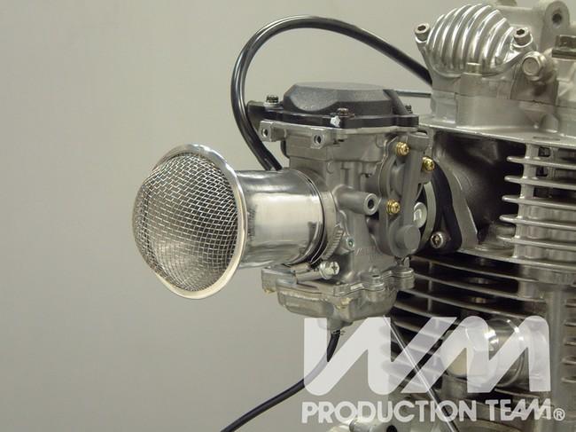 【WM】鋁合金喇叭口 (附過濾網) - 「Webike-摩托百貨」