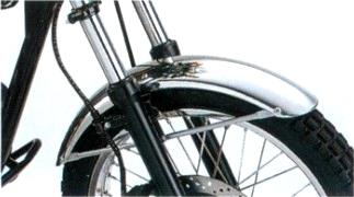 【KAWASAKI】鋁合金前土除(Low type) - 「Webike-摩托百貨」