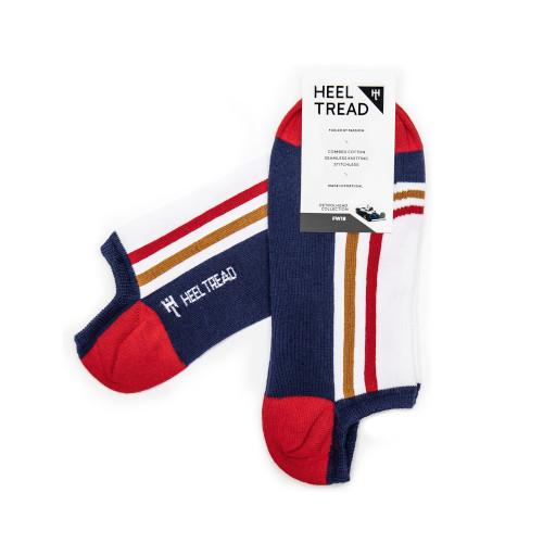 Heel Tread Quattro Low Socks