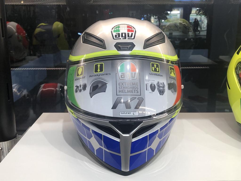 AGV エージーブイK1 ヘルメット バレンティーノロッシ ROSSI MUGELLO 2015