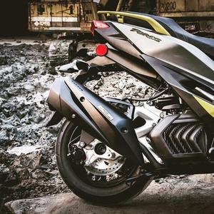Full exhaust system(silent type/steel)