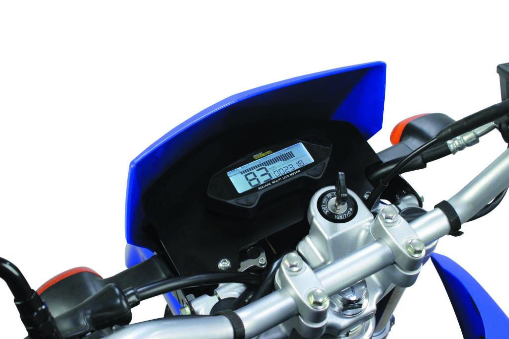スクエアマルチLCDメーターキット(XTZ125専用)