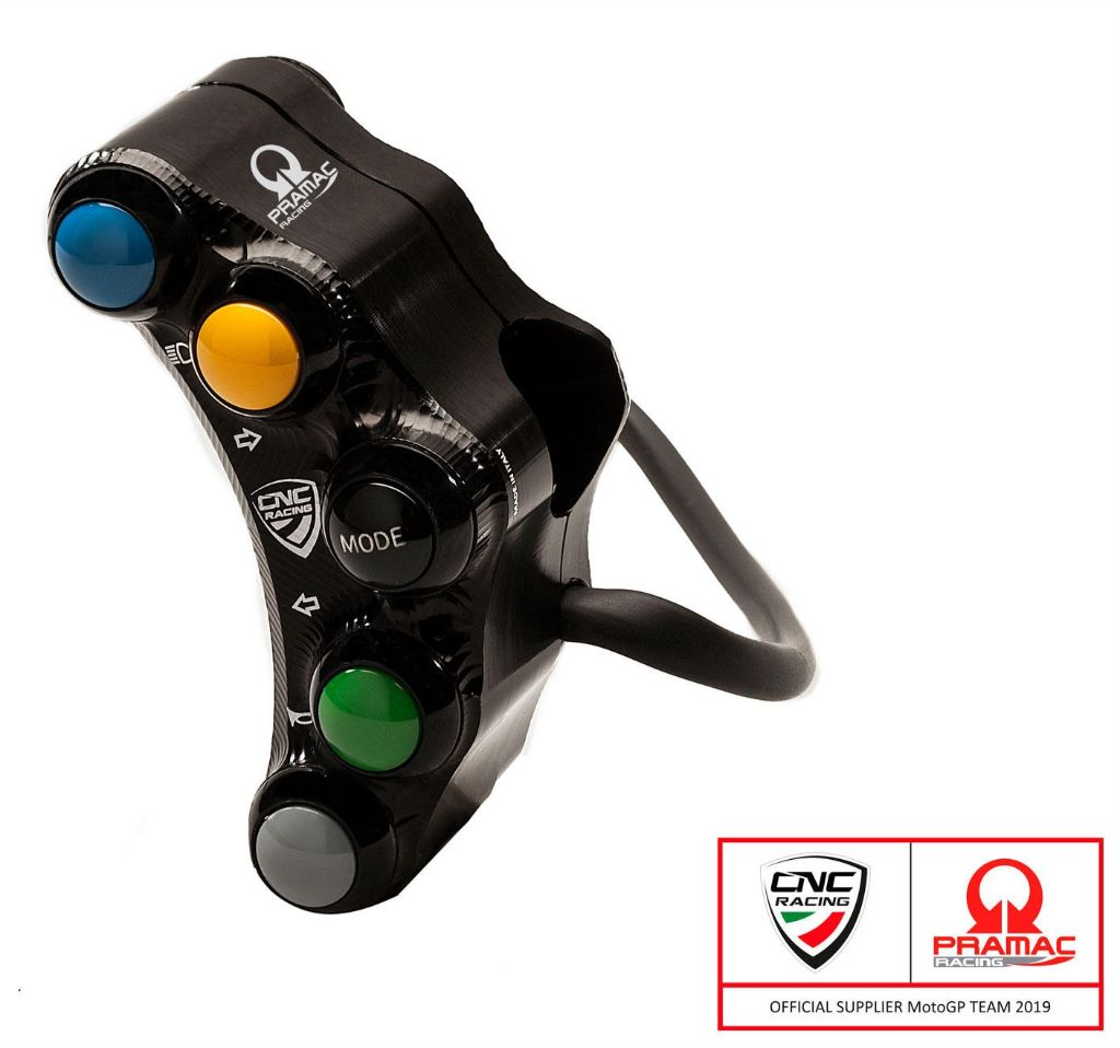 Left handlebar switch - Street use - Pramac Racing Limited Edition