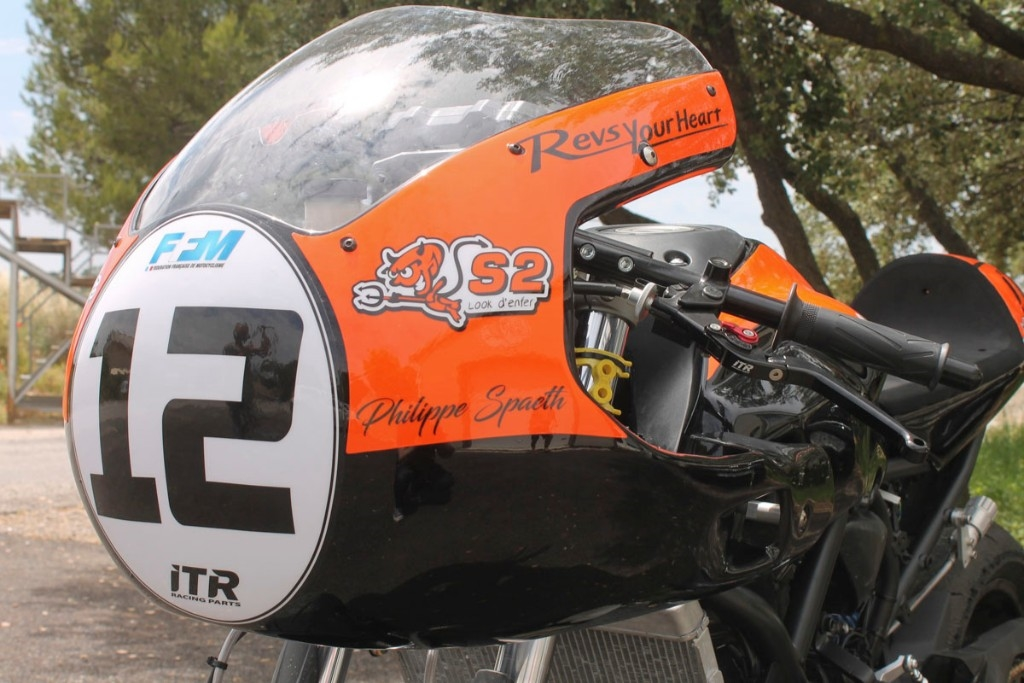 "S2 Concept S2コンセプト""Vintage Racer"" Top fairing"