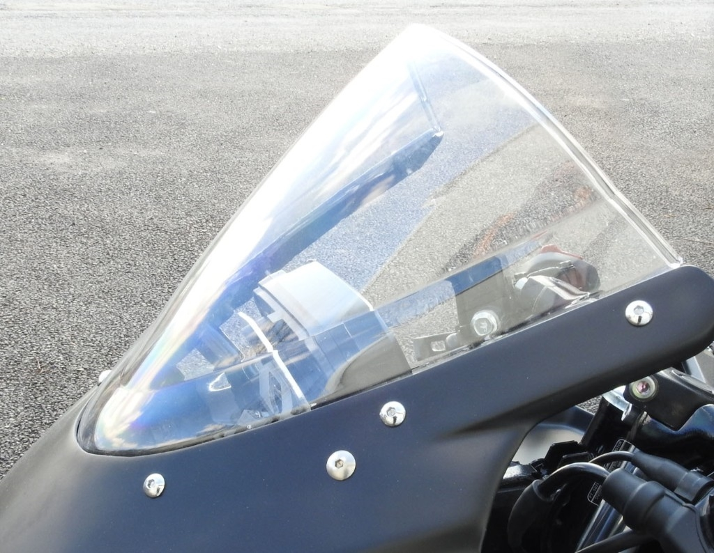 S2 Concept S2コンセプトRacing double bubble windshield