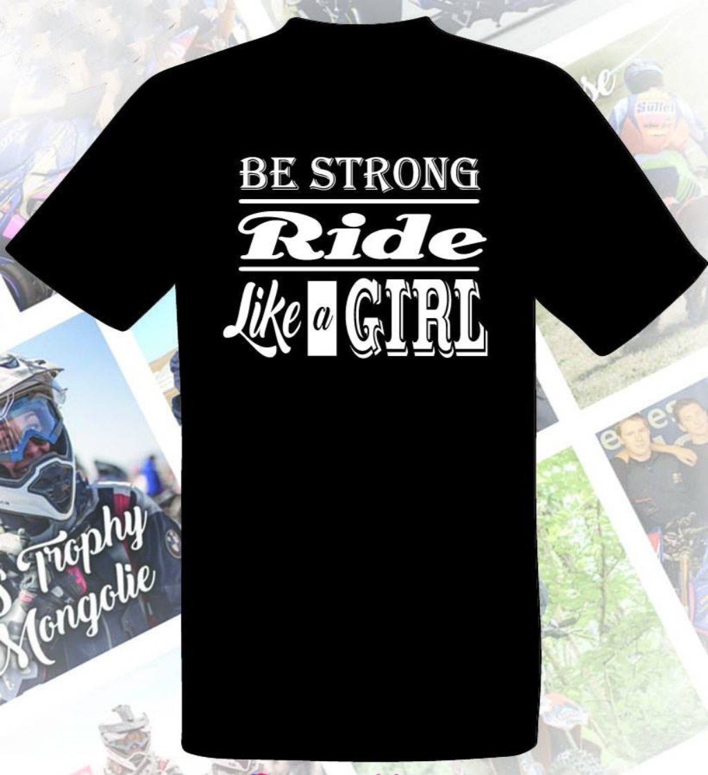 S2 Concept S2コンセプトSonia Barbot's Ride like a girl t-shirt レディース