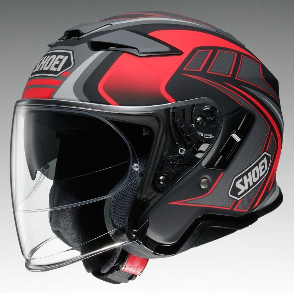 SHOEI ショウエイJ-CRUISEII AGLERO [ジェイ-クルーズ2 アグレロ TC-1 レッド/ブラック ] ヘルメット