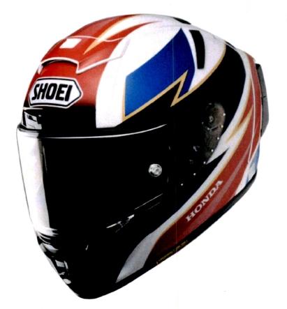 SHOEI ショウエイHonda × X-14 [Honda × X-FOURTEEN ホンダ×エックスフォーティーン トリコロール] ヘルメット