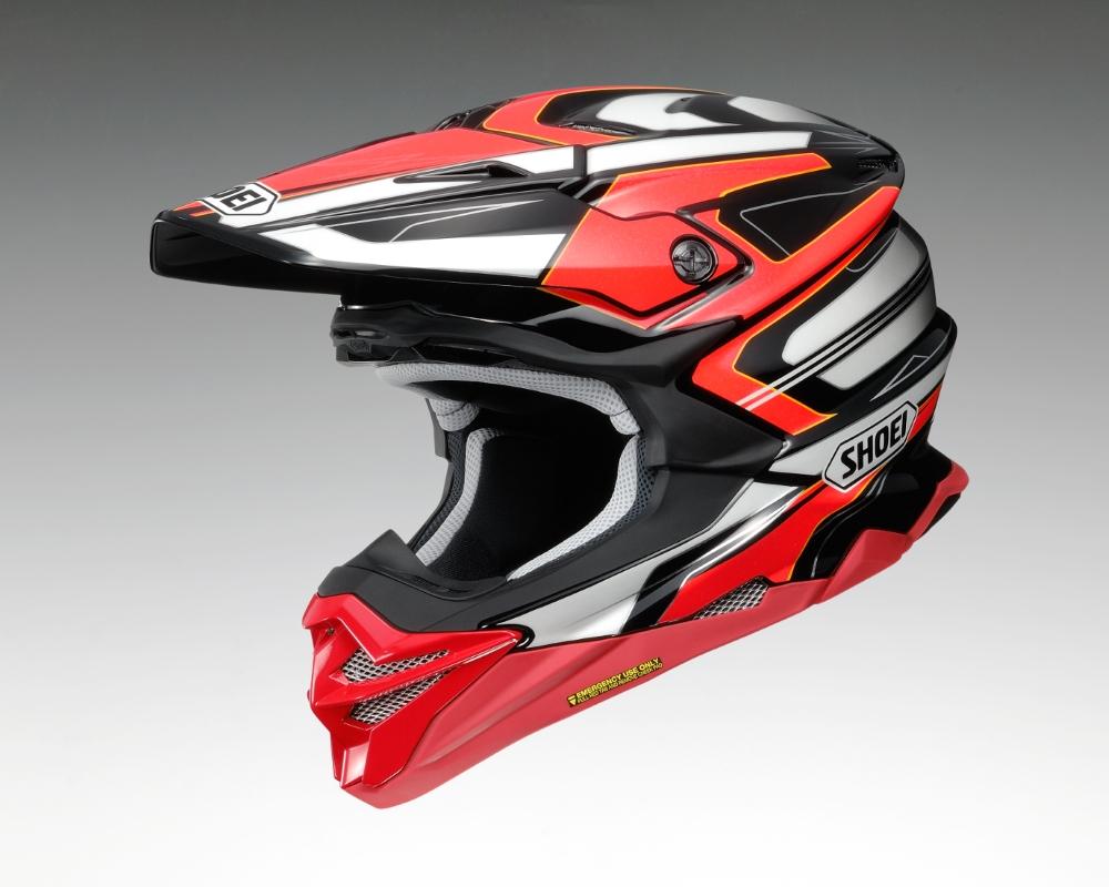 SHOEI ショウエイVFX-WR BRAYTON [ブイエフエックス-ダブリューアール ブレイトン TC-1] ヘルメット