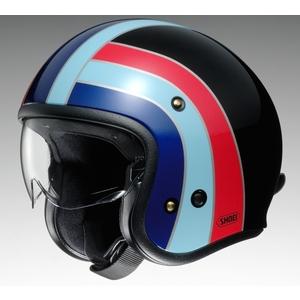 SHOEI ショウエイJ・O NOSTALGIA [ジェイ・オー ノスタルジア TC-10 BLACK/BLUE] ヘルメット
