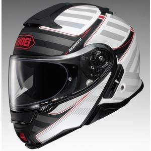 SHOEI ショウエイNEOTECII SPLICER [ネオテック2 スプライサー TC-6 WHITE/BLACK] ヘルメット