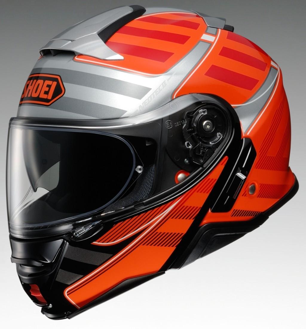 SHOEI ショウエイNEOTECII SPLICER [ネオテック2 スプライサー TC-8 ORANGE/RED] ヘルメット