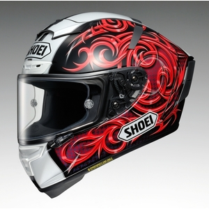 SHOEI ショウエイX-14 KAGAYAMA5 加賀山 [X-FOURTEEN エックス-フォーティーン カガヤマ5 TC-1 RED/BLACK] ヘルメット