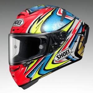 SHOEI ショウエイX-14 DAIJIRO [X-FOURTEEN エックス-フォーティーン ダイジロウ 大治郎 TC-1 RED/BLUE] ヘルメット