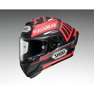 SHOEI ショウエイX-14 MARQUEZ BLACK CONCEPT [X-FOURTEEN エックス-フォーティーン マルケス ブラック コンセプト TC-1 RED/BLACK] ヘルメット