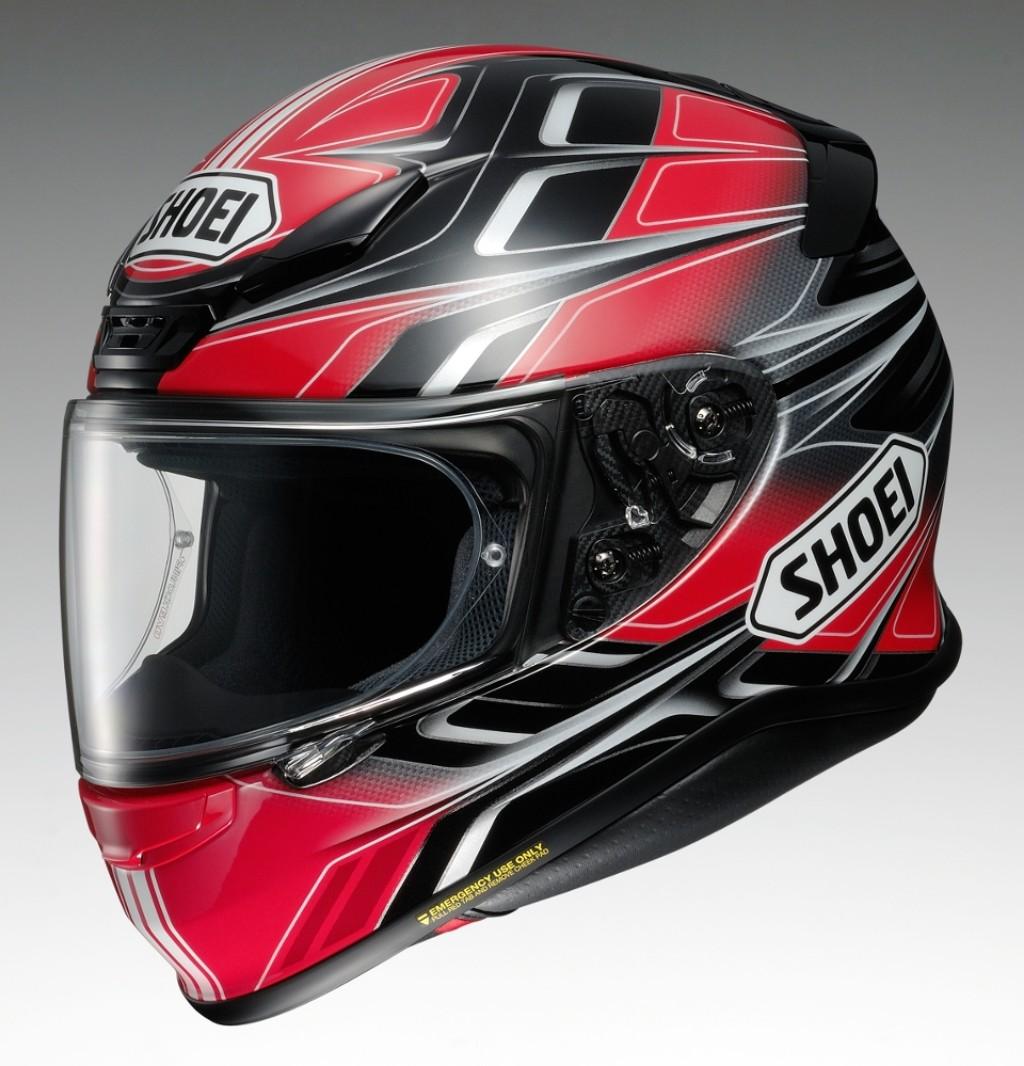 SHOEI ショウエイZ-7 RUMPUS [ゼット-セブン ランパス TC-10 BLACK/RED] ヘルメット