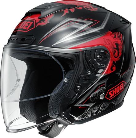 SHOEI ショウエイJ-FORCE IV REFINADO [ジェイ-フォースフォー レフィナード TC-1 RED/BLACK] ヘルメット