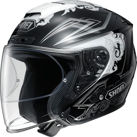 SHOEI ショウエイJ-FORCE IV REFINADO [ジェイ-フォースフォー レフィナード TC-5 WHITE/BLACK] ヘルメット