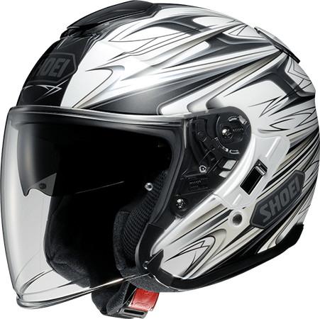 SHOEI ショウエイJ-Cruise CLEAVE [ジェイ-クルーズ クリーブ TC-6 WHITE/GREY] ヘルメット